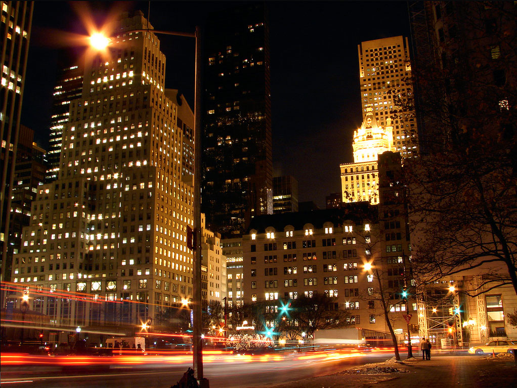 5th Avenue de nuit